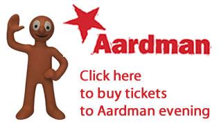 Aardman Invitation
