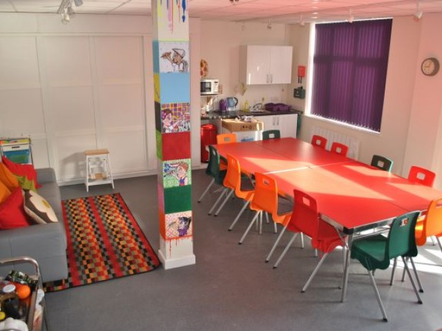 New Young Carers Zone Room