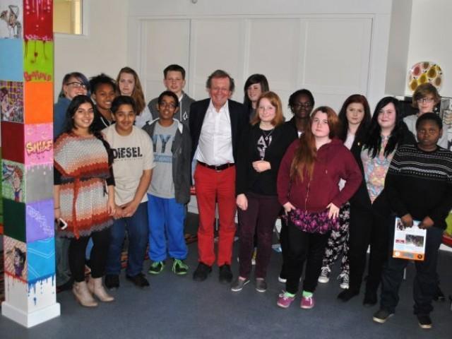 George Ferguson with YC's