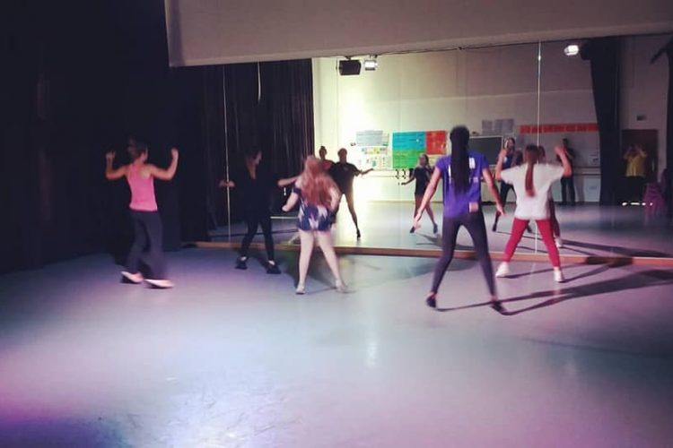 Dance Lessons at the Young Carers Fun Day 2019