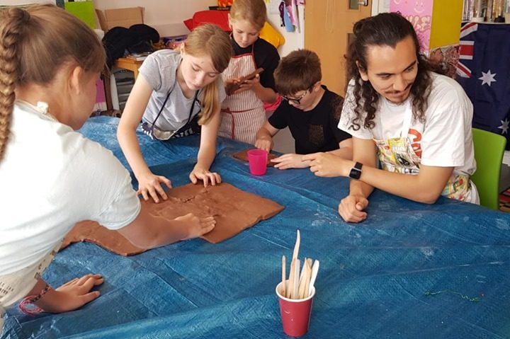 Ceramic Workshop with Create Arts Charity
