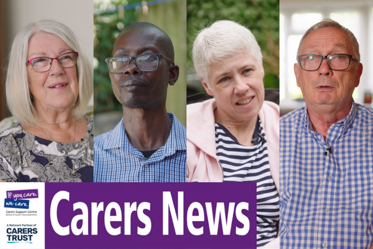 4 carers with carers news title